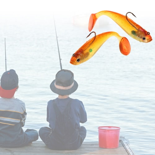 Lixada 2pcs Artificial Soft Baits Lure Fishing Baits Lures Realistic with One Single HookSports &amp; Outdoor<br>Lixada 2pcs Artificial Soft Baits Lure Fishing Baits Lures Realistic with One Single Hook<br>