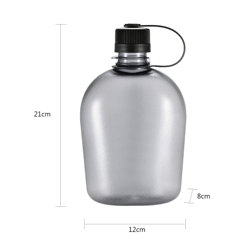500ml/750ml/1000ml Tactical Water Bottle with Handle Drinking Container Military Lightweight Portable for Outdoor LeisureSports &amp; Outdoor<br>500ml/750ml/1000ml Tactical Water Bottle with Handle Drinking Container Military Lightweight Portable for Outdoor Leisure<br>