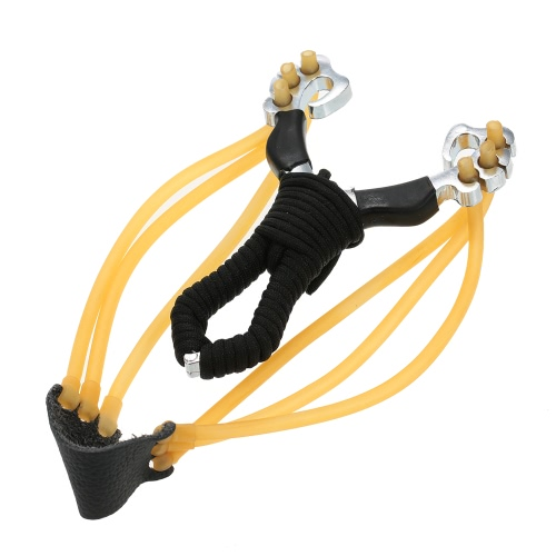 Supper Strong High Density Alloy Slingshot Outdoor Hunting Hunter CatapultSports &amp; Outdoor<br>Supper Strong High Density Alloy Slingshot Outdoor Hunting Hunter Catapult<br>