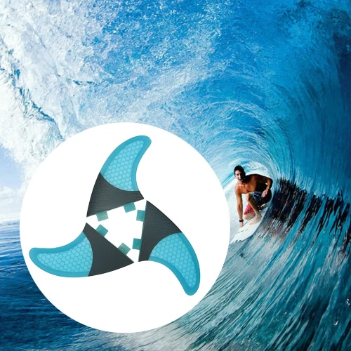 Set of 3 Surfboard Fins Honeycomb Half Carbon Fiber Surf Board Fins G3 / G5 / G7 Surfing FinsSports &amp; Outdoor<br>Set of 3 Surfboard Fins Honeycomb Half Carbon Fiber Surf Board Fins G3 / G5 / G7 Surfing Fins<br>