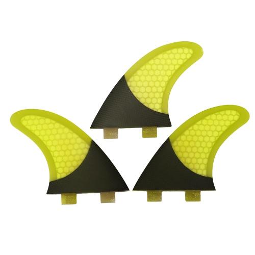 Set of 3 Surfboard Fins Honeycomb Half Carbon Fiber Surf Board Fins G3 / G5 / G7 Surfing FinsSports &amp; Outdoor<br>Set of 3 Surfboard Fins Honeycomb Half Carbon Fiber Surf Board Fins G3 / G5 / G7 Surfing Fins<br>