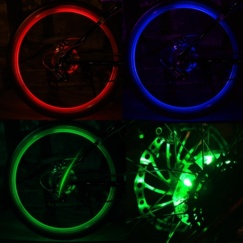 Rechargeable Bicycle Lights Front Rear Cycling Hub Decoration Light Safety Warning Bike Wheel LED LampSports &amp; Outdoor<br>Rechargeable Bicycle Lights Front Rear Cycling Hub Decoration Light Safety Warning Bike Wheel LED Lamp<br>