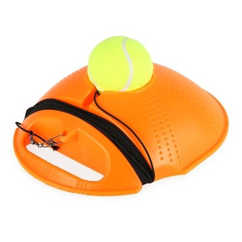 Tênis Treinador Tênis Prática Baseboard Treinamento Ferramenta Tênis Exercício Rebote Bola com Corda