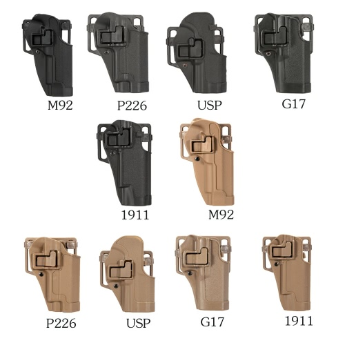Right-handed Plastic Concealment Combat Holster Hunting Shooting HolsterSports &amp; Outdoor<br>Right-handed Plastic Concealment Combat Holster Hunting Shooting Holster<br>