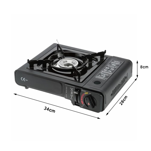 2.3KW Portable Gas Stove with Carrying Box Piezo Ignition Gas Burner for BBQ Chafing dish Stir-fry StewingSports &amp; Outdoor<br>2.3KW Portable Gas Stove with Carrying Box Piezo Ignition Gas Burner for BBQ Chafing dish Stir-fry Stewing<br>