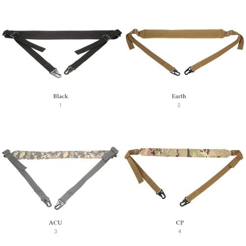 Docooler Military Tactical Safety Two Points Outdoor Belt Carbine Sling Adjustable StrapSports &amp; Outdoor<br>Docooler Military Tactical Safety Two Points Outdoor Belt Carbine Sling Adjustable Strap<br>