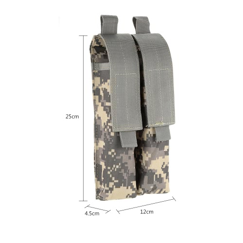 Tactical Pistol Rifle Double Magazine Mag Pouch 600D Oxford Fabric Accessary Pouch Utility ToolSports &amp; Outdoor<br>Tactical Pistol Rifle Double Magazine Mag Pouch 600D Oxford Fabric Accessary Pouch Utility Tool<br>