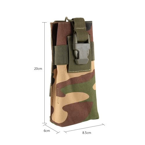 Tactical Interphone Radio Pouch Bag Holster Intercom Accessary Pouch Utility Tool Outdoor Hiking ClimbingSports &amp; Outdoor<br>Tactical Interphone Radio Pouch Bag Holster Intercom Accessary Pouch Utility Tool Outdoor Hiking Climbing<br>