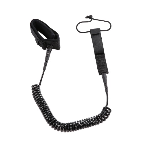 5.5mm Thick Coiled SUP Leash Cord Body Board Bodyboarding Ankle Leash for Paddleboard SurfboardSports &amp; Outdoor<br>5.5mm Thick Coiled SUP Leash Cord Body Board Bodyboarding Ankle Leash for Paddleboard Surfboard<br>