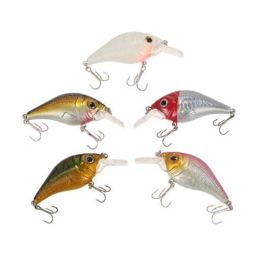 Lixada 5pcs Fishing Baits Hard Artificial Lifelike Lures Crankbait Lip Crank Kit Bass Fishing with Clear BoxSports &amp; Outdoor<br>Lixada 5pcs Fishing Baits Hard Artificial Lifelike Lures Crankbait Lip Crank Kit Bass Fishing with Clear Box<br>