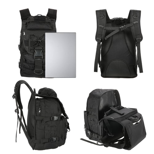 Lixada 40L Outdoor Gear Backpack Daypack Pack Large Capacity Water Resistant Utility Bag for Hunting Camping TrekkingSports &amp; Outdoor<br>Lixada 40L Outdoor Gear Backpack Daypack Pack Large Capacity Water Resistant Utility Bag for Hunting Camping Trekking<br>