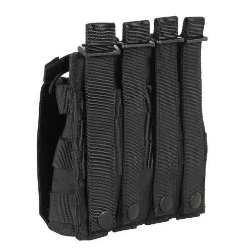 Lixada Outdoor Modular Magazine Pouch Open Top Molle Double Mag Pouch Pack HolderSports &amp; Outdoor<br>Lixada Outdoor Modular Magazine Pouch Open Top Molle Double Mag Pouch Pack Holder<br>