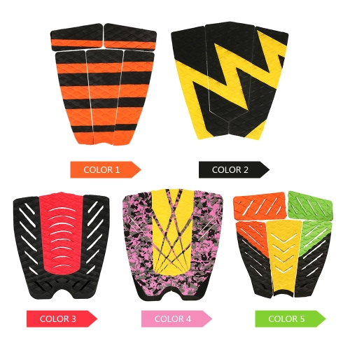 5pcs Surf Ripper Traction Tail Pads Surfing Surfboard Surf Deck Grips Adhesive Stomp Pad for Surfing and SkimboardingSports &amp; Outdoor<br>5pcs Surf Ripper Traction Tail Pads Surfing Surfboard Surf Deck Grips Adhesive Stomp Pad for Surfing and Skimboarding<br>