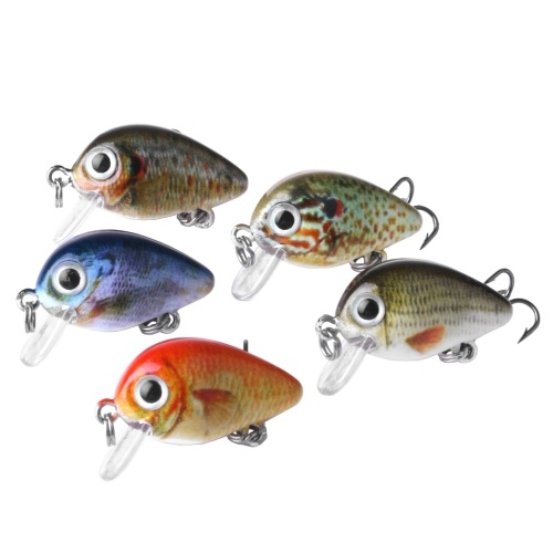 Esca da pesca dura 5PC Set 2.7cm / 1.5g