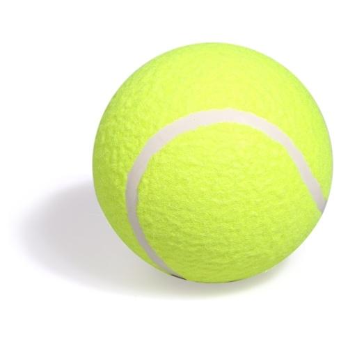 """5 """"bola exterior interna da prática da bola de tênis inflável do treinamento para o divertimento adulto do animal de estimação das crianças"""