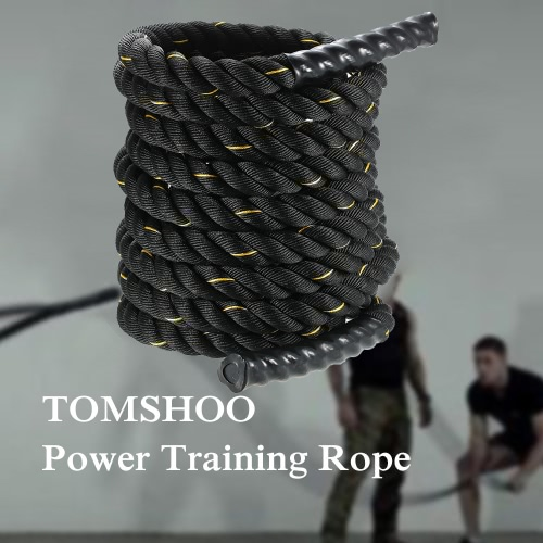 38mm Diameter 15m length TOMSHOO Battle Training Undulation RopeSports &amp; Outdoor<br>38mm Diameter 15m length TOMSHOO Battle Training Undulation Rope<br>
