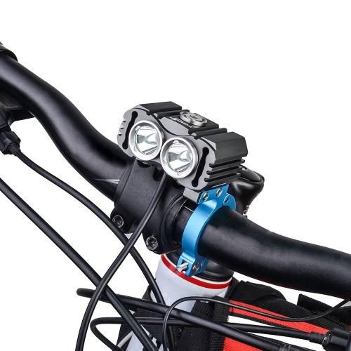 Mountain Terrain Bicycle MTB Bike Bicycle Light Torch Freshlight Handle Bar Handlebar Clip Mount Bracket Multifunctional