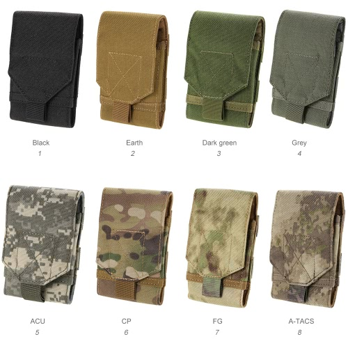 Tactical Universal Compatible Smartphone Outdoor Multipurpose Camping Carry Accessory PouchSports &amp; Outdoor<br>Tactical Universal Compatible Smartphone Outdoor Multipurpose Camping Carry Accessory Pouch<br>