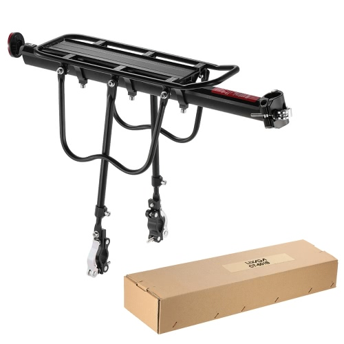Lixada Quick Release Adjustable Bike Carrier Mount Rack Cycling Cargo Racks Aluminum Bicycle Rear Rear Seat Post Rack Bicycle PannSports &amp; Outdoor<br>Lixada Quick Release Adjustable Bike Carrier Mount Rack Cycling Cargo Racks Aluminum Bicycle Rear Rear Seat Post Rack Bicycle Pann<br>