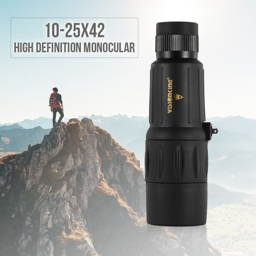 Visionking 10-25X42 High Definition Waterproof Monocular Telescope Outdoor Portable Compact Monocular Scope 20 Close FocusSports &amp; Outdoor<br>Visionking 10-25X42 High Definition Waterproof Monocular Telescope Outdoor Portable Compact Monocular Scope 20 Close Focus<br>