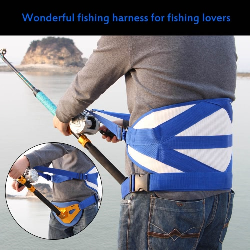 Big Fish Sea Fishing Fighting Stand Up Back Harness with Belt Fishing TacklesSports &amp; Outdoor<br>Big Fish Sea Fishing Fighting Stand Up Back Harness with Belt Fishing Tackles<br>