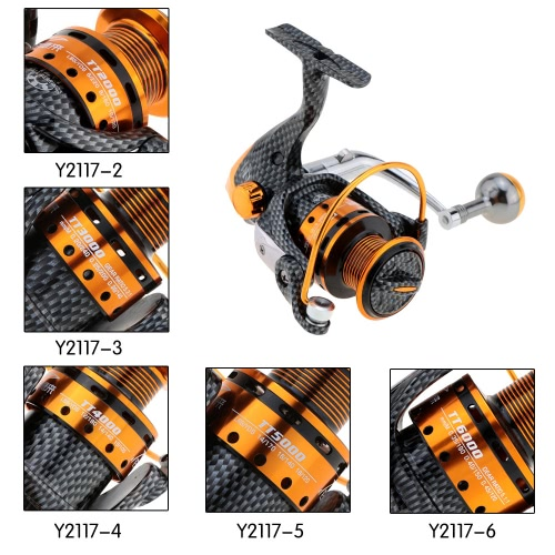 12+1BB 5.2:1 Right Left Hand Inter-changeable Front Drag Spinning Fishing ReelSports &amp; Outdoor<br>12+1BB 5.2:1 Right Left Hand Inter-changeable Front Drag Spinning Fishing Reel<br>