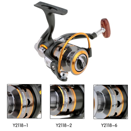 11BB Right Left Hand Inter-changeable Front Drag Spinning Fishing ReelSports &amp; Outdoor<br>11BB Right Left Hand Inter-changeable Front Drag Spinning Fishing Reel<br>