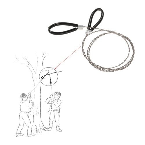 Wire Saw Camping Hiking Survival Saw Outdoor Survival Tool Kit Survival GearSports &amp; Outdoor<br>Wire Saw Camping Hiking Survival Saw Outdoor Survival Tool Kit Survival Gear<br>