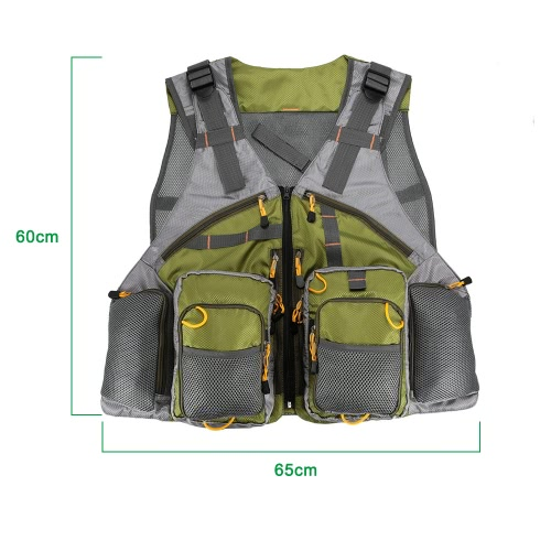 Adjustable Fly Fishing Vest Mesh for Men and Women Premium Gear Packs and Vests for Fly FishingSports &amp; Outdoor<br>Adjustable Fly Fishing Vest Mesh for Men and Women Premium Gear Packs and Vests for Fly Fishing<br>