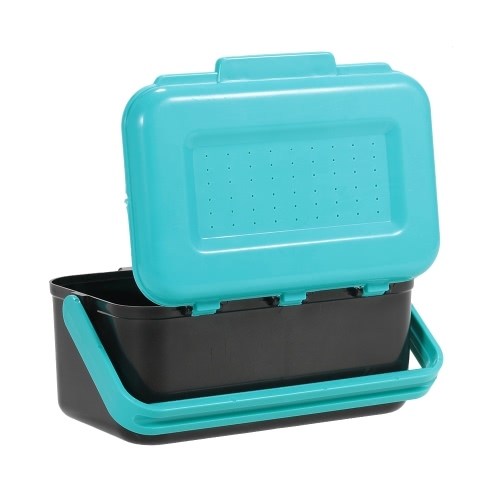 Portable Fishing Lure Box Case Live Lure Bait Hook Earthworm Carrying Case Waist Fishing Tackle BoxSports &amp; Outdoor<br>Portable Fishing Lure Box Case Live Lure Bait Hook Earthworm Carrying Case Waist Fishing Tackle Box<br>