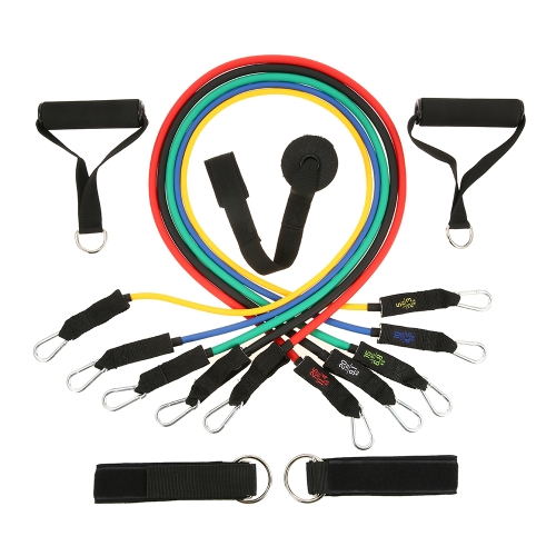 Lixada 10PCS Ultimate Resistance Band Set with Heavy Duty Rubber Resistance Bands Door Anchors Ankle Straps Foam Handles Storage BSports &amp; Outdoor<br>Lixada 10PCS Ultimate Resistance Band Set with Heavy Duty Rubber Resistance Bands Door Anchors Ankle Straps Foam Handles Storage B<br>