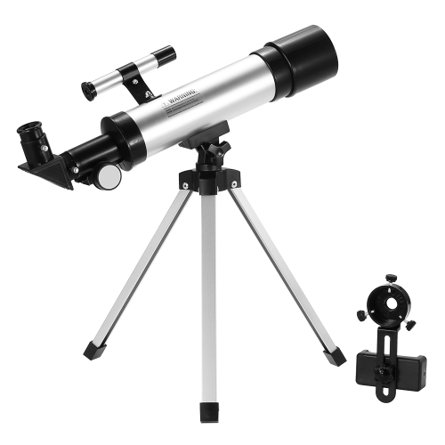 Outdoor Refractor Telescope Refractive Space Astronomical Telescope Monocular Moon Star Spotting Scope with Tripod Finderscope forSports &amp; Outdoor<br>Outdoor Refractor Telescope Refractive Space Astronomical Telescope Monocular Moon Star Spotting Scope with Tripod Finderscope for<br>