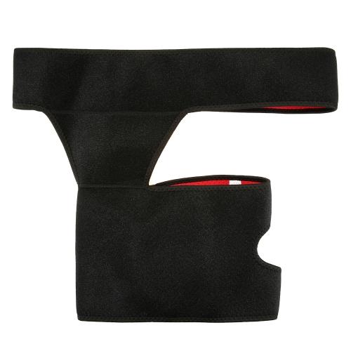 Compression Wrap Leg Brace Thigh Groin Wrap Elastic Waist Thigh Support Straps Waist Brace Lower Lumbar Brace Belt Waist Leg PainSports &amp; Outdoor<br>Compression Wrap Leg Brace Thigh Groin Wrap Elastic Waist Thigh Support Straps Waist Brace Lower Lumbar Brace Belt Waist Leg Pain<br>