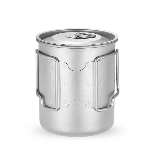 TOMSHOO 450ml Titanium Cup Outdoor Portable Camping Picnic Water Cup Mug with Lid Foldable HandleSports &amp; Outdoor<br>TOMSHOO 450ml Titanium Cup Outdoor Portable Camping Picnic Water Cup Mug with Lid Foldable Handle<br>
