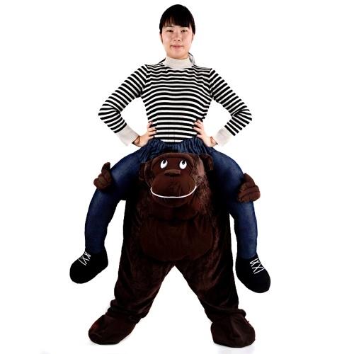 Funny Stuffed Carry Back Ride on Mascot Pants Costumes