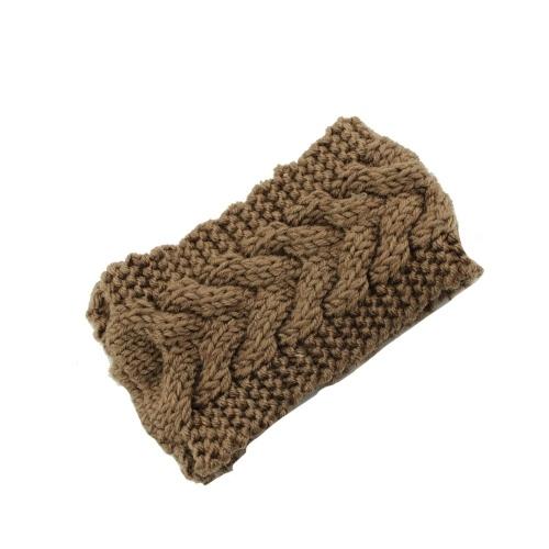 Winter Fashion Women Knitted Turban Headbands