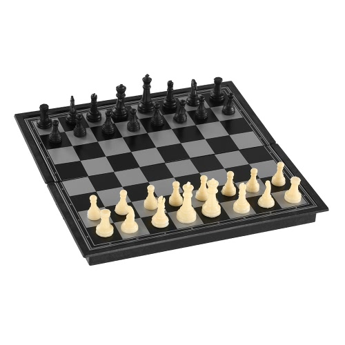 Magnetic Chess Set International Chess Educational Chess Set Entertainment Game Chess with Folding BoardSports &amp; Outdoor<br>Magnetic Chess Set International Chess Educational Chess Set Entertainment Game Chess with Folding Board<br>