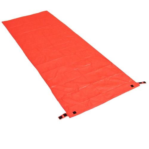 Lixada portátil único saco de dormir ao ar livre Camping viagens caminhadas saco de dormir 200 * 72cm