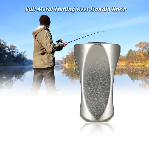 Full Metal Spinning Reel Handle Knob Replacement Parts Fishing Reel AccessoriesSports &amp; Outdoor<br>Full Metal Spinning Reel Handle Knob Replacement Parts Fishing Reel Accessories<br>