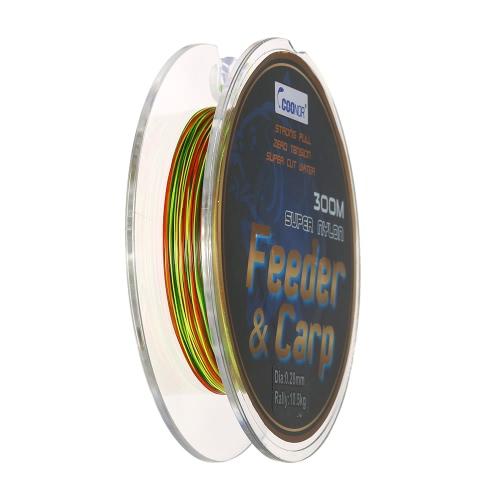 Linee di pesca eccellente di 300M Linea di pesca del mare di pesca Linea di pesca del monofilamento della linea Linea di pesca di PP 0.28mm / 0.3mm / 0.35mm / 0.4mm