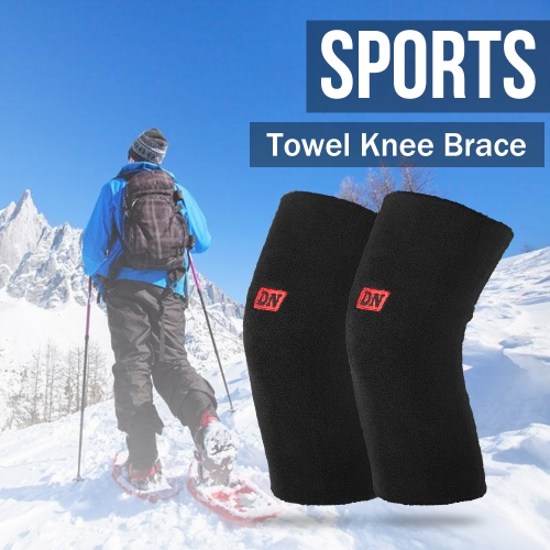 2PCS Knee Brace Towel Knee Sleeve Basketball Knee Pad Support Guard Protector Leg Support Sports Snowboard Knee Compression SleeveSports &amp; Outdoor<br>2PCS Knee Brace Towel Knee Sleeve Basketball Knee Pad Support Guard Protector Leg Support Sports Snowboard Knee Compression Sleeve<br>