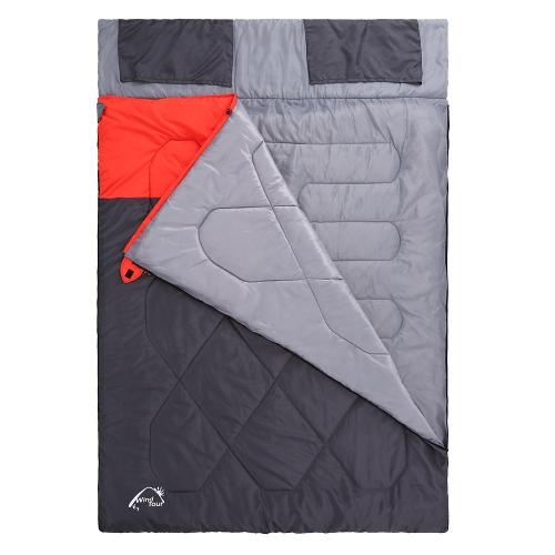 Double Sleeping Bag Winter Warm Outdoor Camping Travel Hiking Sleeping Bag Big Sleeping BagSports &amp; Outdoor<br>Double Sleeping Bag Winter Warm Outdoor Camping Travel Hiking Sleeping Bag Big Sleeping Bag<br>