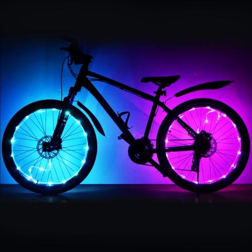 LED Bike Wheel Light Bicycle Wheel Tire Spoke Light Cycling Bike Wheel Warning Lamp Bike String Light LampSports &amp; Outdoor<br>LED Bike Wheel Light Bicycle Wheel Tire Spoke Light Cycling Bike Wheel Warning Lamp Bike String Light Lamp<br>