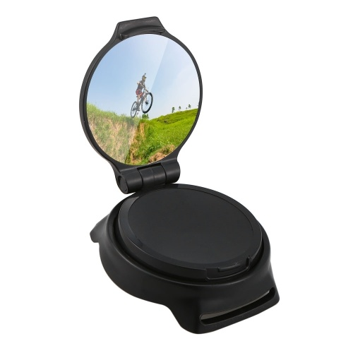 Adjustable Riding Wrist Band Cycling Mirror Kit