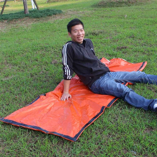 Portable Emergency Sleeping Bag Polyethylene Sleeping Bag Outdoor Camping Travel Hiking Sleeping BagSports &amp; Outdoor<br>Portable Emergency Sleeping Bag Polyethylene Sleeping Bag Outdoor Camping Travel Hiking Sleeping Bag<br>