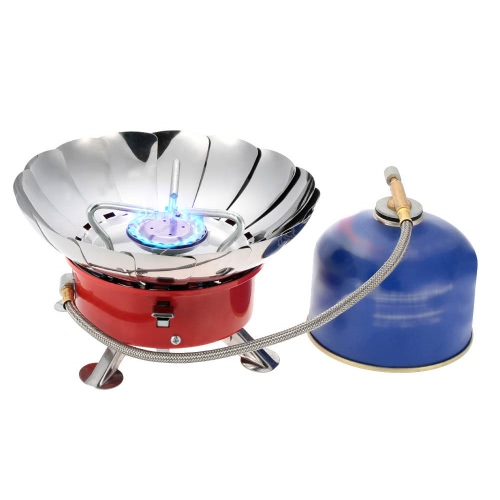 TOMSHOO 2800W Outdoor Portable Collapsible Windproof Camping Backpacking Gas Stove Camping Equipment for Flat Butane Gas CartridgeSports &amp; Outdoor<br>TOMSHOO 2800W Outdoor Portable Collapsible Windproof Camping Backpacking Gas Stove Camping Equipment for Flat Butane Gas Cartridge<br>