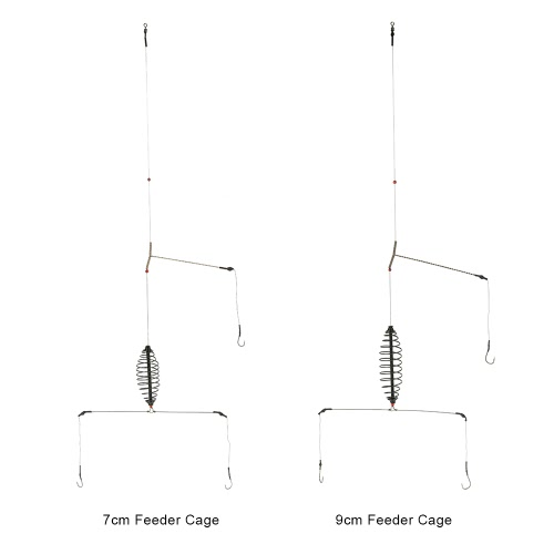 Fishing Bait Lure Cage with 3 Line Hooks Carp Feeder Fishing Tackle Accessories 7cm/9cmSports &amp; Outdoor<br>Fishing Bait Lure Cage with 3 Line Hooks Carp Feeder Fishing Tackle Accessories 7cm/9cm<br>