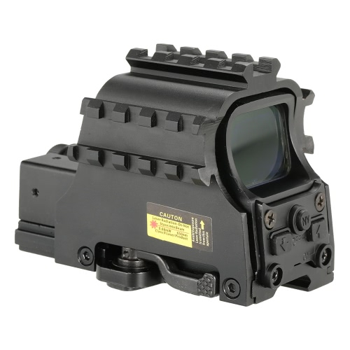 Outdoor Tactical Riflescope Tubeless Holographic Green Red Dot Sight Optics Riflescope Hunting ScopeSports &amp; Outdoor<br>Outdoor Tactical Riflescope Tubeless Holographic Green Red Dot Sight Optics Riflescope Hunting Scope<br>