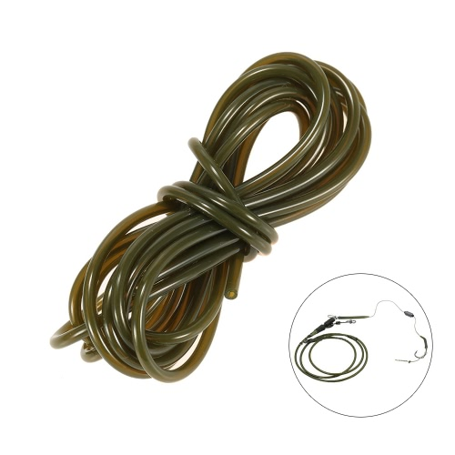 2m Rig Tube Carp Fishing Silicone Rig Sleeves Soft Carp Rig Tube Carp Fishing Tackle AccessoriesSports &amp; Outdoor<br>2m Rig Tube Carp Fishing Silicone Rig Sleeves Soft Carp Rig Tube Carp Fishing Tackle Accessories<br>