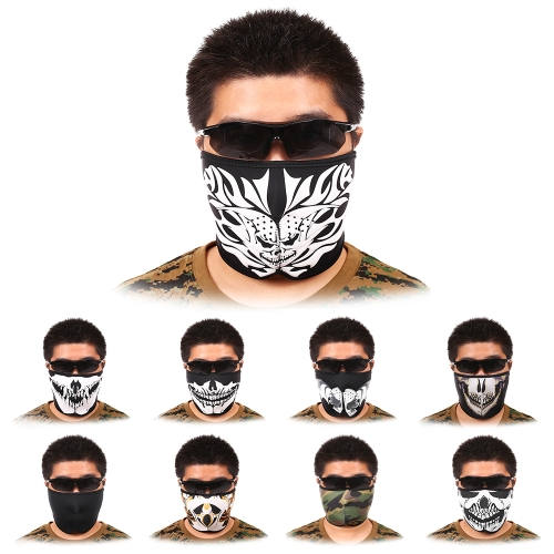 Breathable Half Mask Shield Face Mask for Cycling Mountaineering Skiing Outdoor SportsSports &amp; Outdoor<br>Breathable Half Mask Shield Face Mask for Cycling Mountaineering Skiing Outdoor Sports<br>